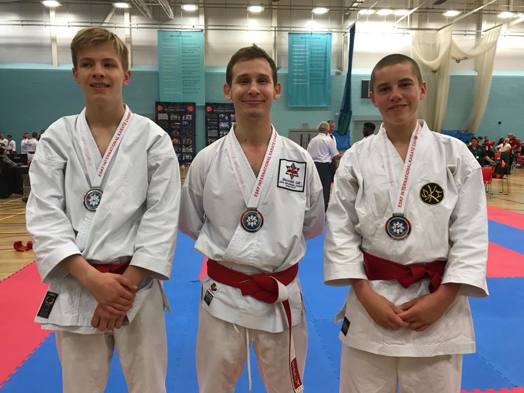 Male Cadets - Team Kumite