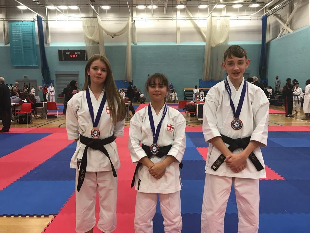 Jamie, Ellie & Dylan - Junior Team Kate - 3rd Place
